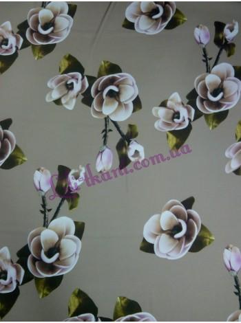 Шелк в цветы