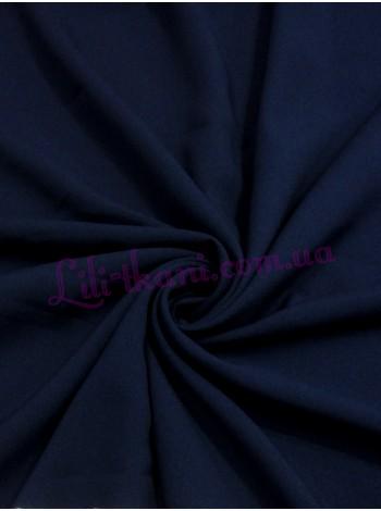 Шифон темно-синего цвета