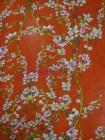 Шифон в цветы сакуры