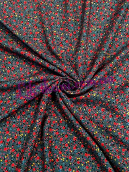 Штапель в мелкие цветочки