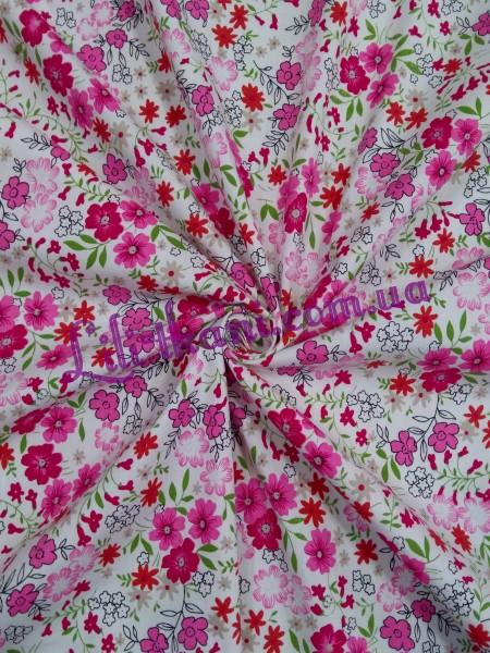 Рубашечная в розовые цветы