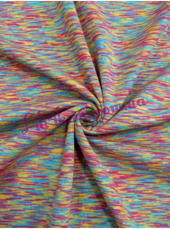 Трикотаж цветной меланж